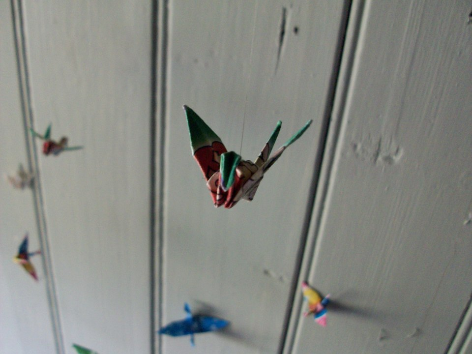 a student installation