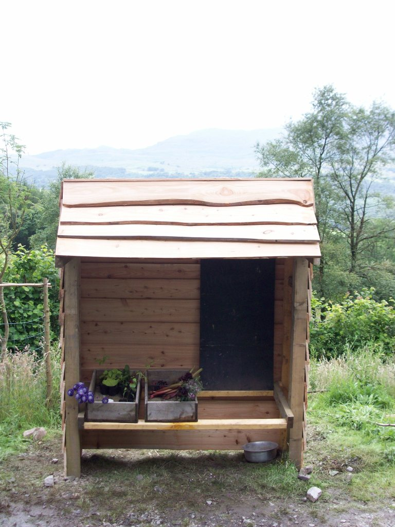 The honesty stall we built for Grizedale
