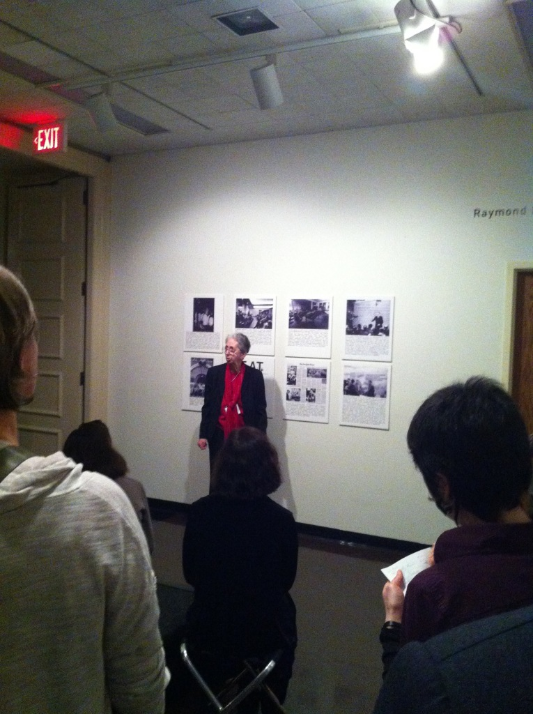 Julie Martin speaking about E.A.T.